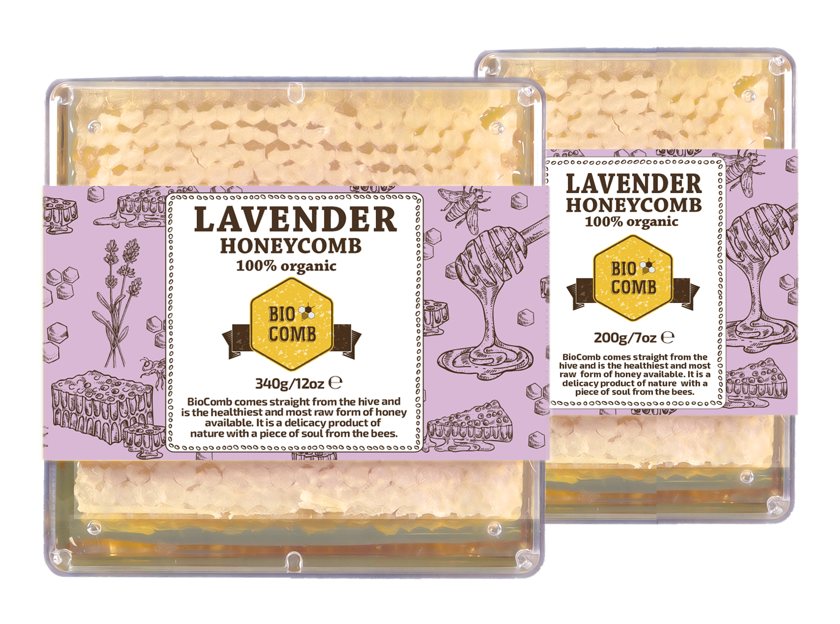 BioComb Lavender